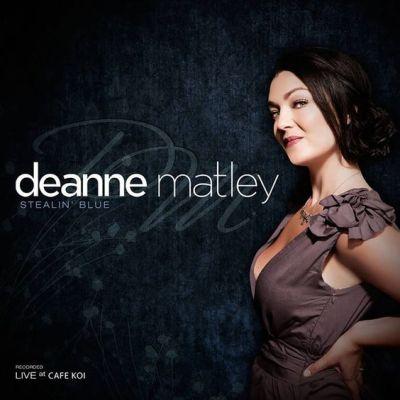 stealin blue by Deanne Matley
