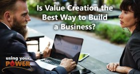 value creation to build business