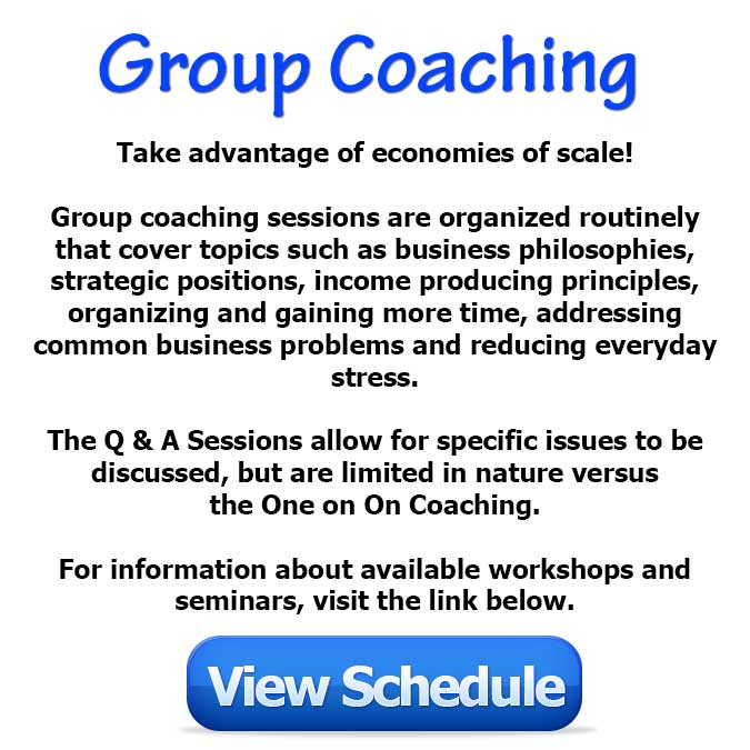 Group Coaching Schedule