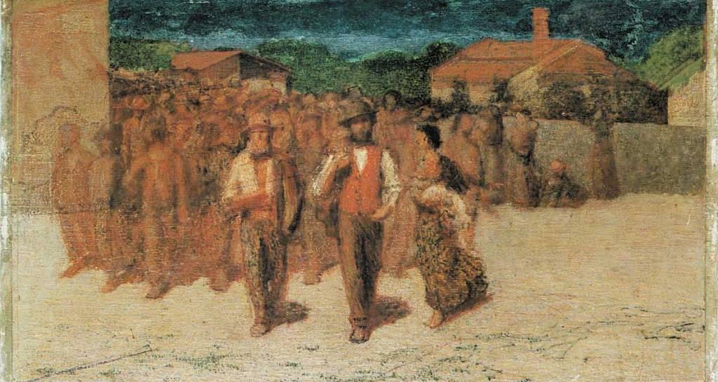 Pellizza-da-Volpedo-Fiumana,-bozzetto-del-1895