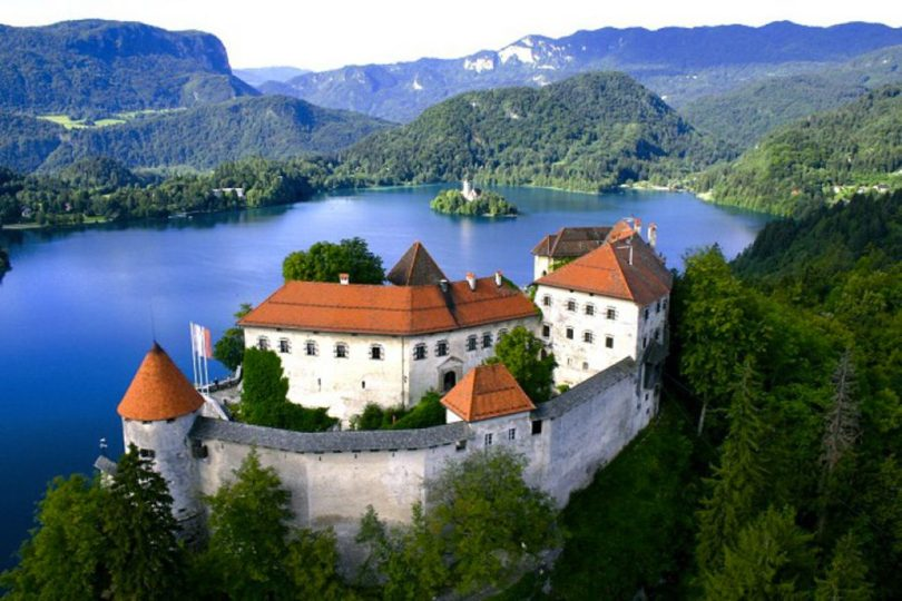 A festival with a view - Bled castello