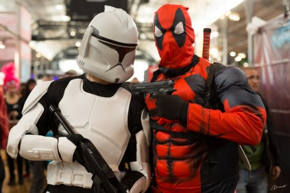 Trooper et Deadpool