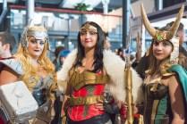 Thorette Wonder Woman et Lokette