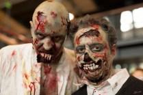 Walking Dead maquillage par Olivier Rousseau art service