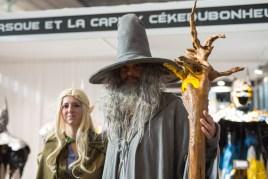 Gandalf et sa copine Elfe