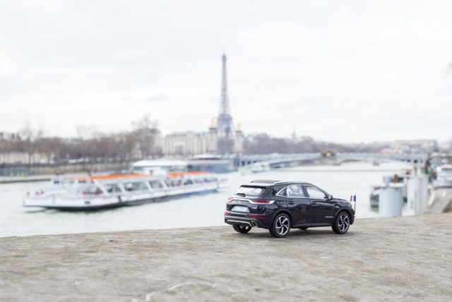 DS7 Crossback presidentiel Tour Eiffel