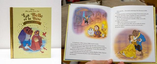 Petit livre d'Or La Belle et la Bête