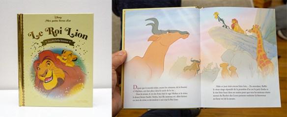 Petit livre d'Or Le Roi Lion