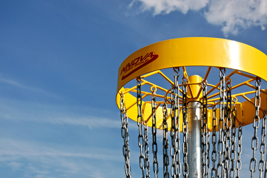 disc golf basket for sale