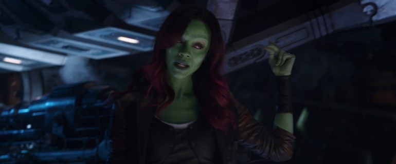 gamora snap of his fingers