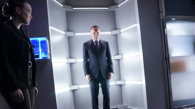 Clark Gregg as Agent Coulson in season 6 of Marvel's Agents of S.H.I.E.L.D.