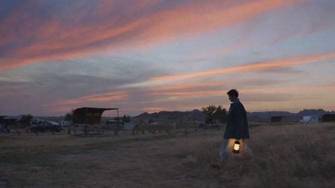 Frances McDormand in Nomadland, predicted to be a 2021 Oscar frontrunner.