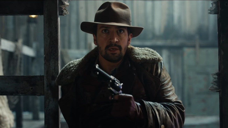 Lin-Manuel Miranda is ready with gun at hand in season 2 of 'His Dark Materials.'