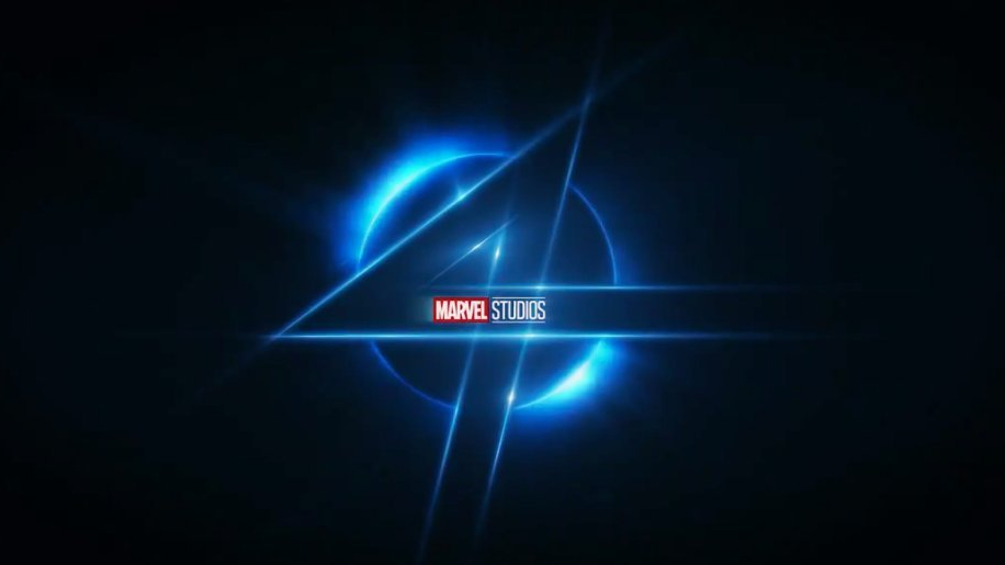 The fresh logo for the MCU version of the Fantastic Four as revealed by Kevin Feige at Disney's 2020 Investor Day.