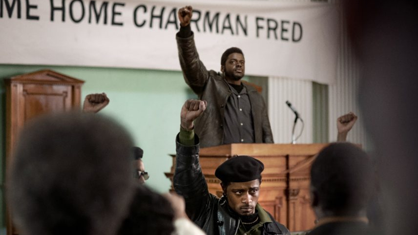 LaKeith Stanfield and Daniel Kaluuya as black panthers in Judas and the Black Messiah, coming to HBO Max in February.