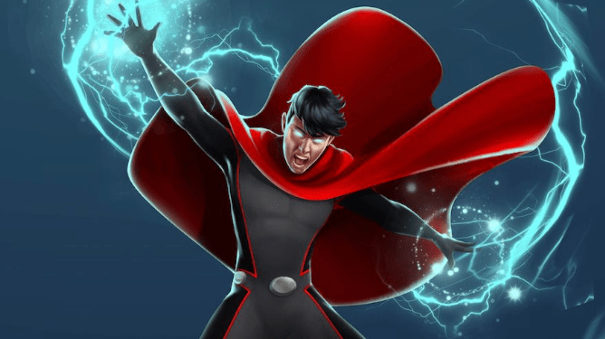 Wiccan from the Young Avengers as seen in Marvel Comics.