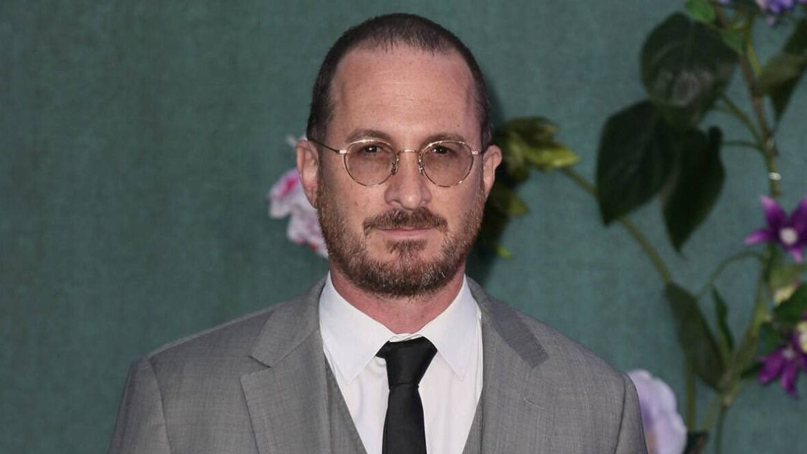 Darren Aronofsky on the red carpet premiere of Mother!