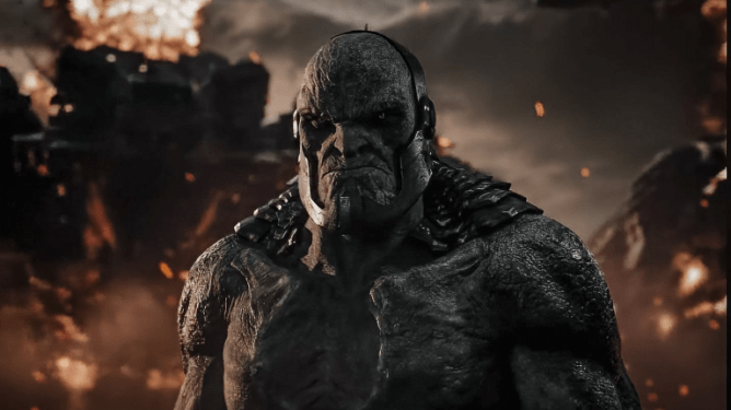 Darkseid as seen in Zack Snyder's Justice League with music by Junkie XL.