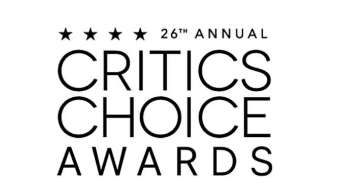 The logo for the 26th annual Critics Choice Awards