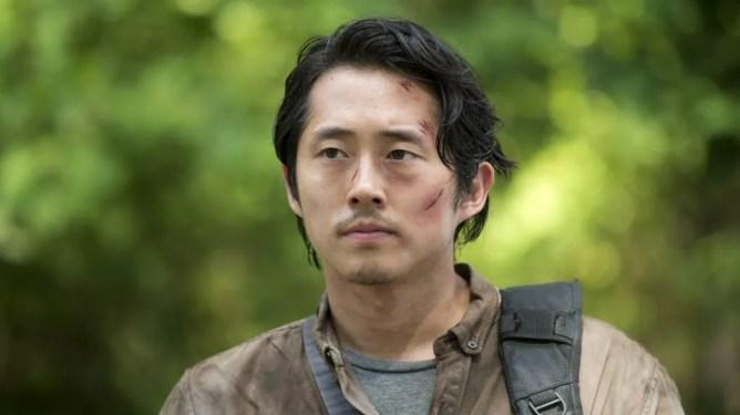 Steven Yeun as seen on AMC's The Walking Dead created by Robert Kirkman.