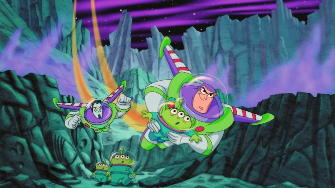 Buzz Lightyear of Star Command the 2000 Disney Channel animated series, the last collaboration between Disney Television Animation and Pixar.