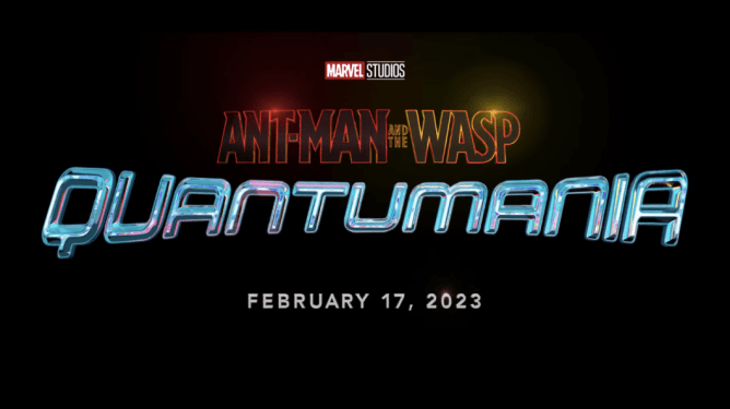 Title Release for Marvel Studios' Ant Man and the Wasp Quantumania