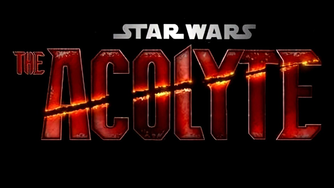 The logo for the upcoming Star Wars Disney+ seres THE ACOLYTE, aiming to begin production next February.