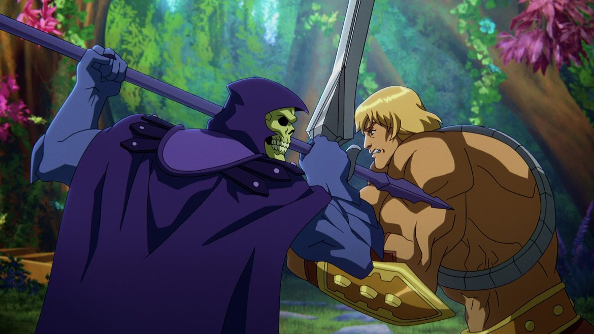 He-Man and Skeletor in Netflix's Masters of the Universe: Revelation, as revealed during Day 4 of Geeked Week.
