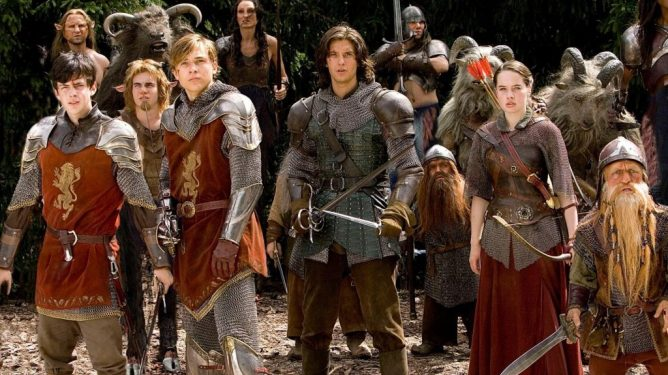 Ben Barnes as Prince Caspian in the chronicles of Narnia
