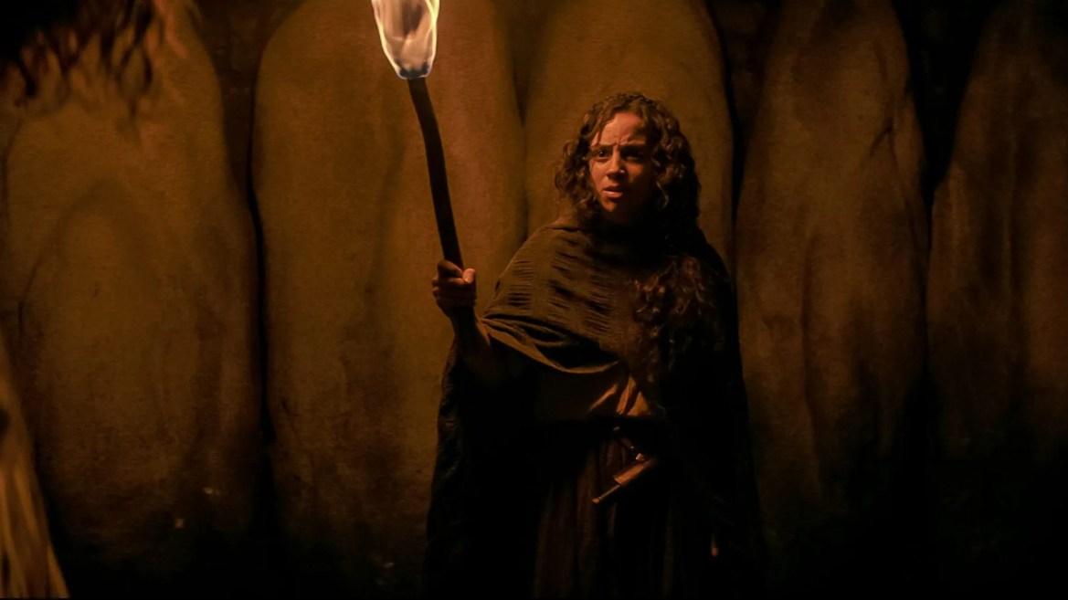Kiana Madeira as Sarah Fier of Shadyside as seen in FEAR STREET PART THREE: 1666 on Netflix.