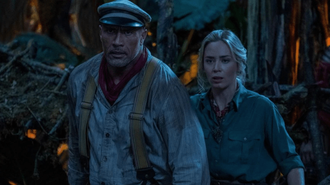 """Dwayne """"The Rock"""" Johnson and Emily Blunt lead the cast of the new Disney live-action film JUNGLE CRUISE, based off the iconic Disneyland ride."""