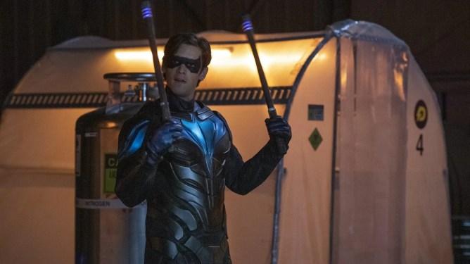 Brenton Thwaites in 'Titans' as Nightwing or Dick Grayson