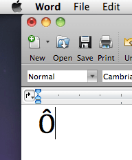 Accented Characters In Word For Mac Opti Apple Community