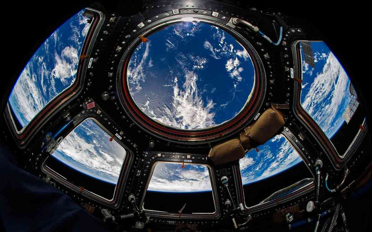 Breathtaking views of the Earth from the International Space Station