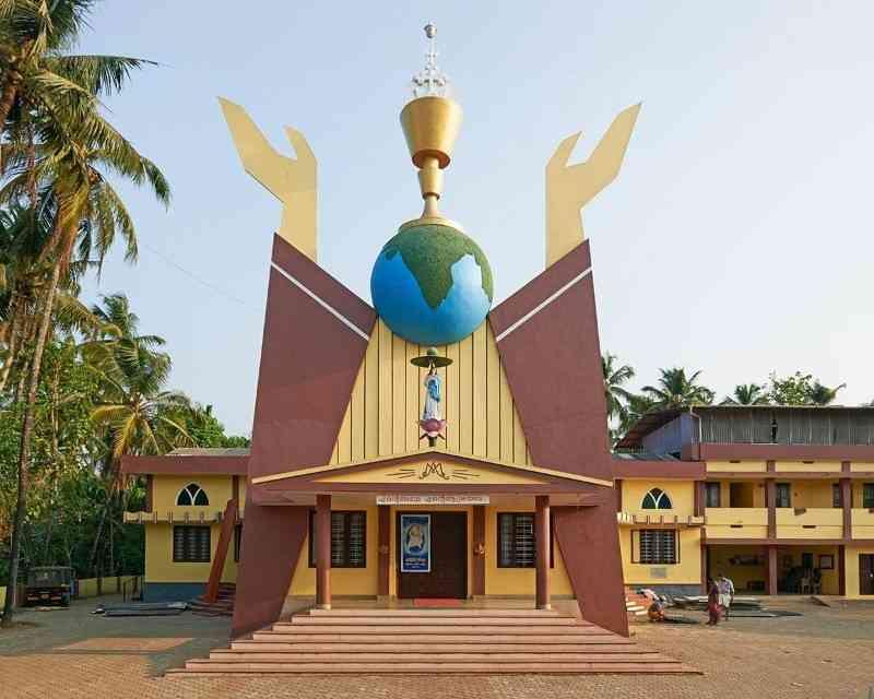 Churchesbuiltinpost colonialIndia