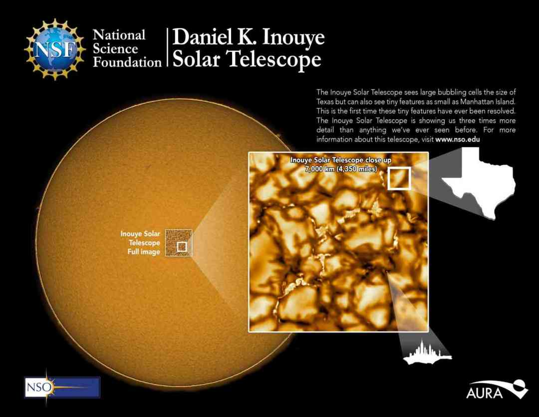 See the sharpest movie of the sun ever made, with each plasma cell the size of Texas