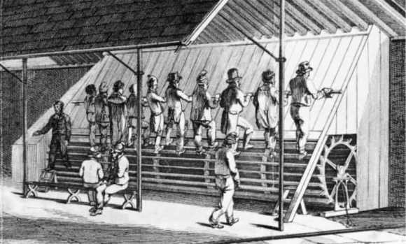 The treadmill was originally a torture device