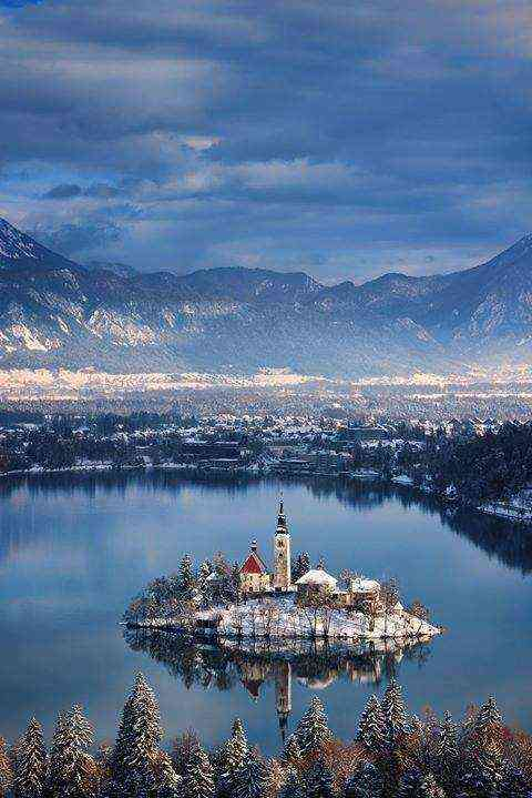 The beauty of Slovenia's Bled Island