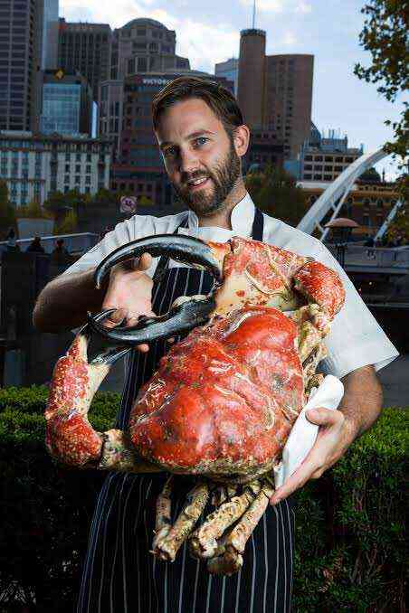 The Tasmanian Giant Crab is the king of crabs
