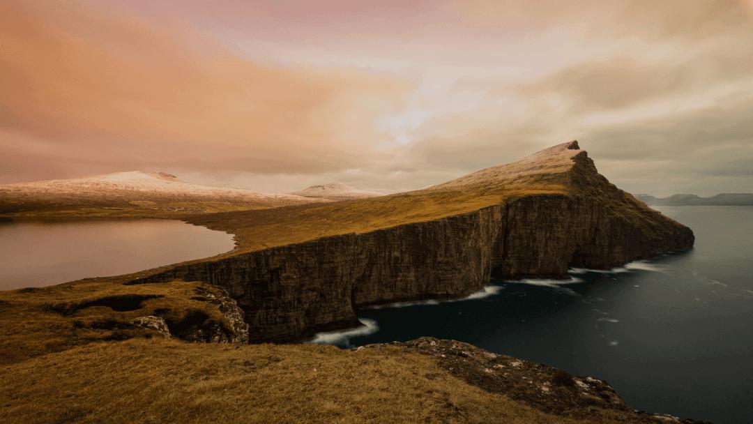 Traelanipa cliffs in the Faroe Islands