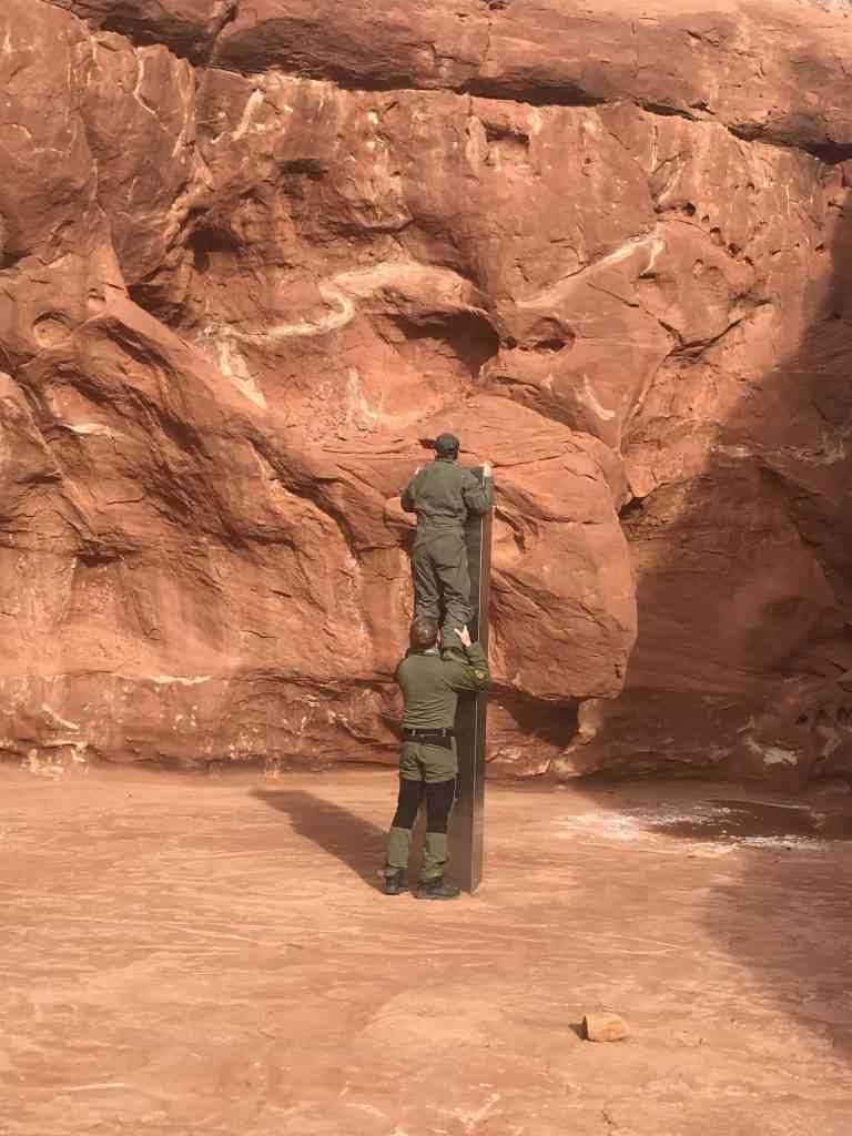 Mysterious metal monolith found in remote Utah desert