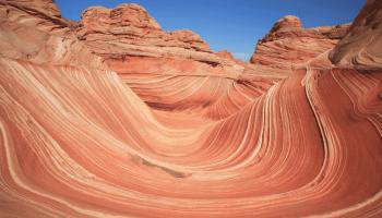 The Wave in Vermilion Cliffs Wilderness, Arizona