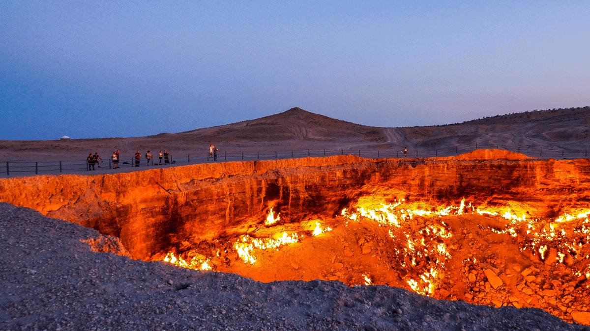 Darvaza gas crater