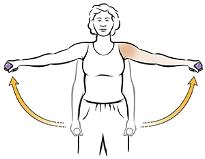 exercise to reduce breast size