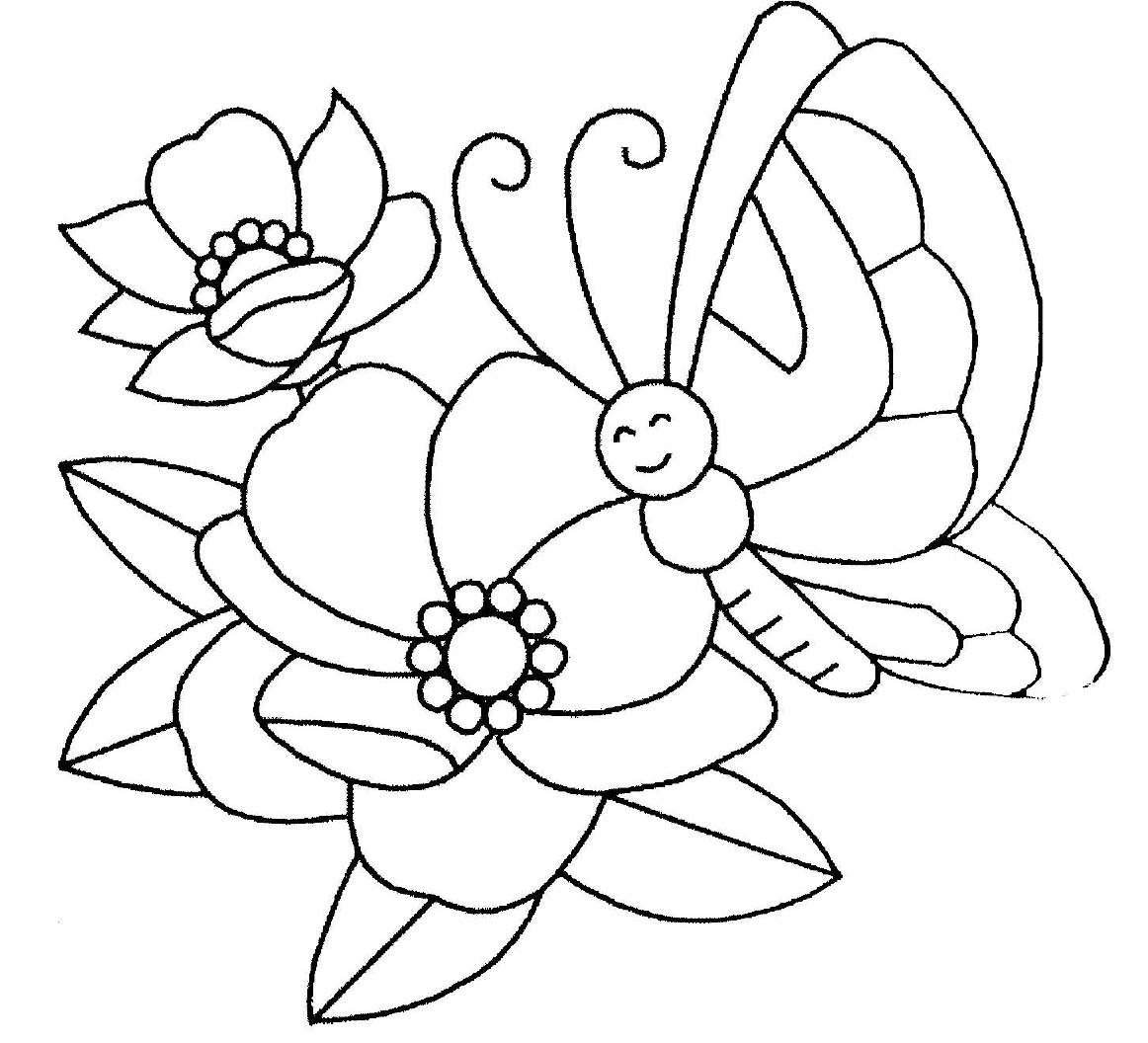 Disegni Sulla Primavera Da Colorare Per Bambini