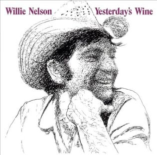 WILLIE NELSON - Yesterday's Wine (1971) Diseñada por Pete Ciccone
