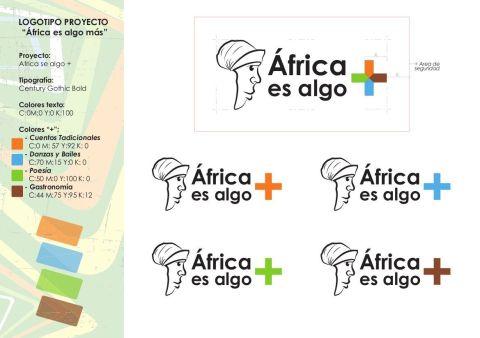 Logo proyecto - Africa es algo mas - diseñosocial - socialdesign
