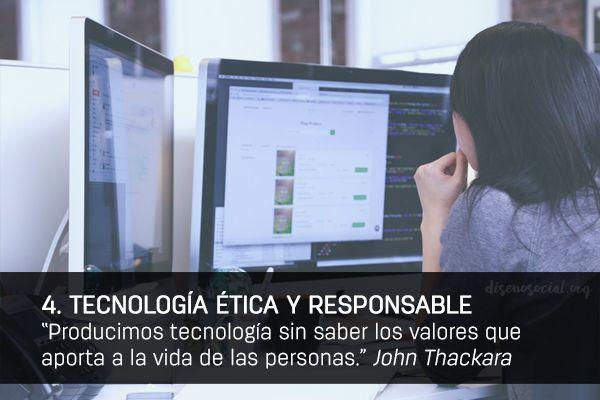 4 TECNOLOGIA ETICA RESPONSABLE