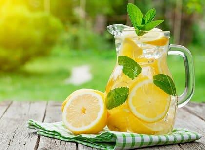 Lemonadi sitruunat - 15 Reseptit kotona