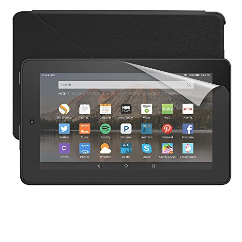 Fire Essentials Bundle including Fire Tablet, 7″ Display, Wi-Fi, 8 GB – Amazon Cover – Screen Protector